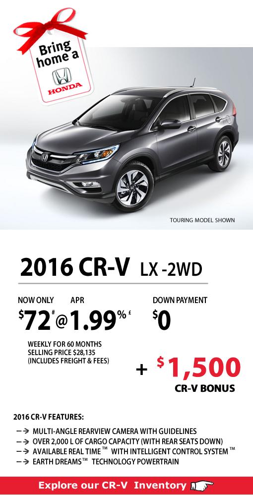 2016 CR-V LX-2WD
