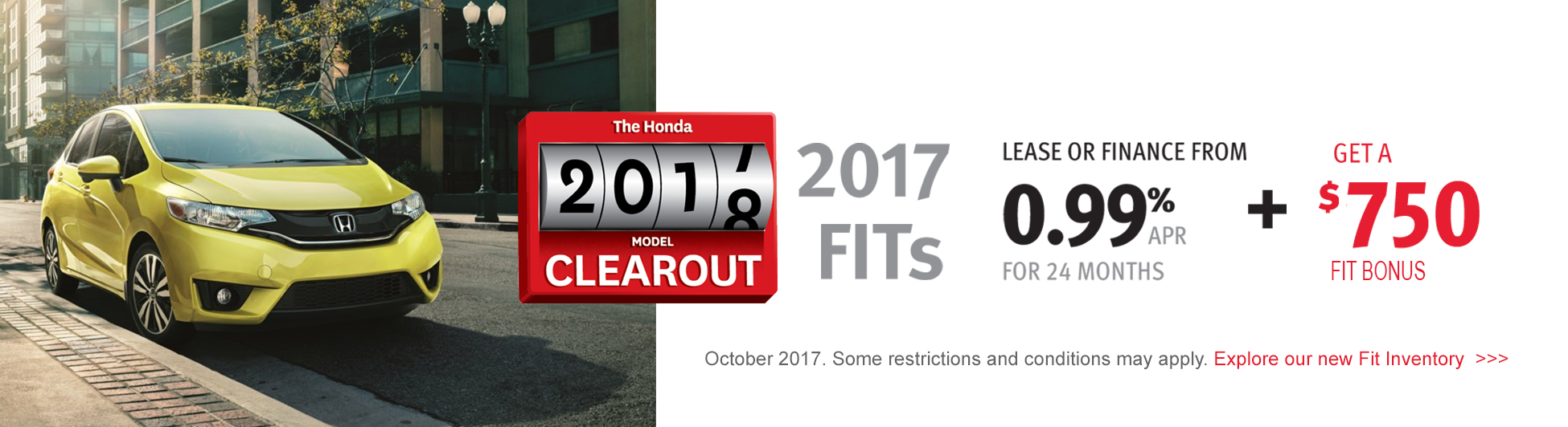 Fit Clearout Bonus