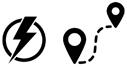 Electric Range Icon