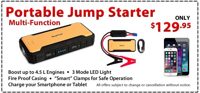 Portable Jump Start