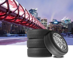 Winter tires in Calgary
