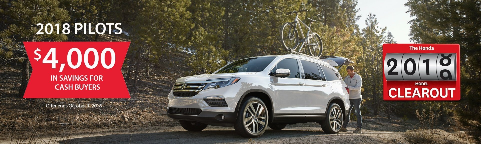 Honda Pilot Savings