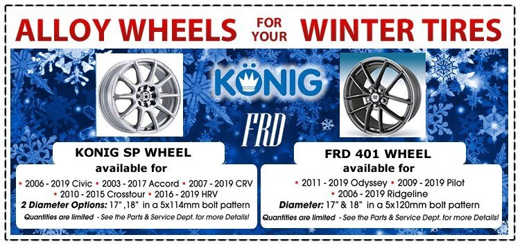Alloy Wheels for Your Winter Tires