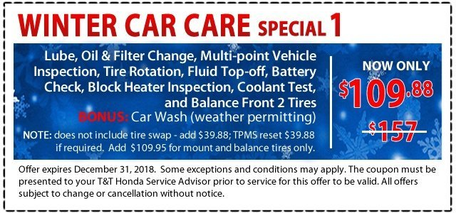 Winter Car Care Special 1