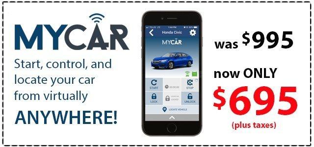 MyCar Remote Control App