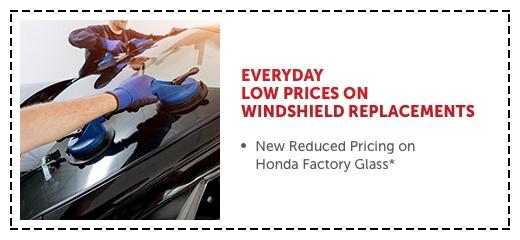 Honda Factory Windshields